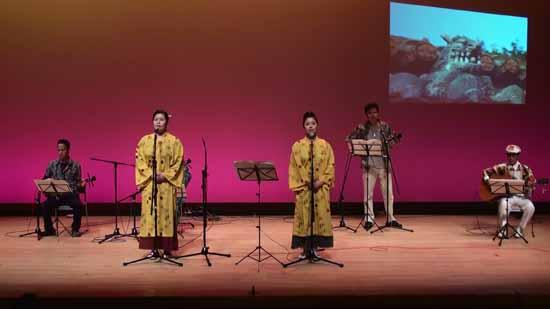 院長南風関連2010北条文化祭てぃんさぐぬ花