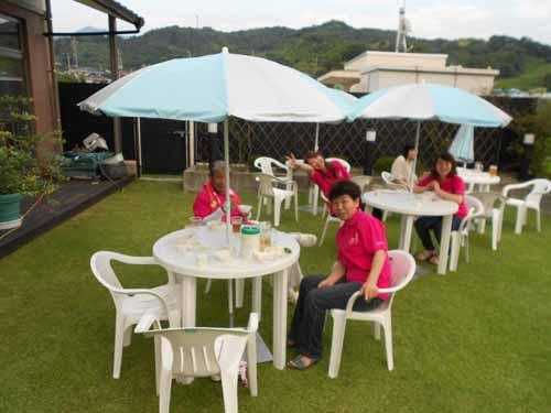 院長カメラファイル平成25年ガーデンパーティー縮小庭