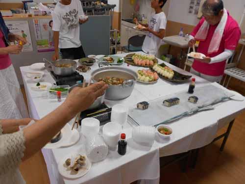 院長カメラファイル平成25年ガーデンパーティー縮小料理